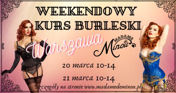 Weekendowy kurs burleski Warszawa