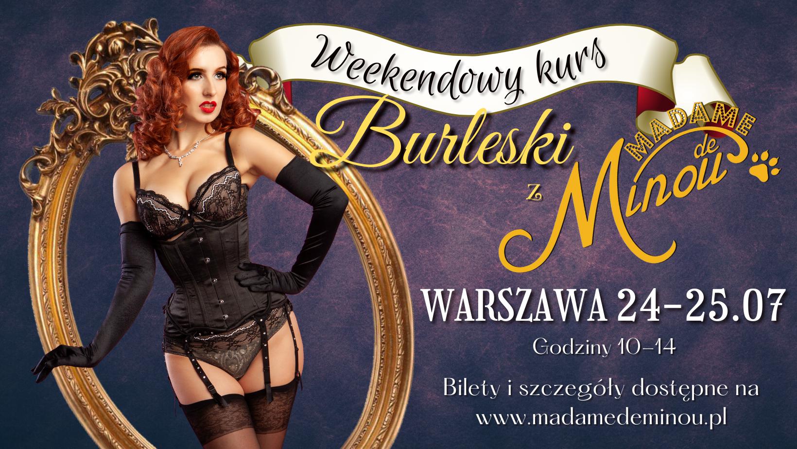 kurs burleski Warszawa